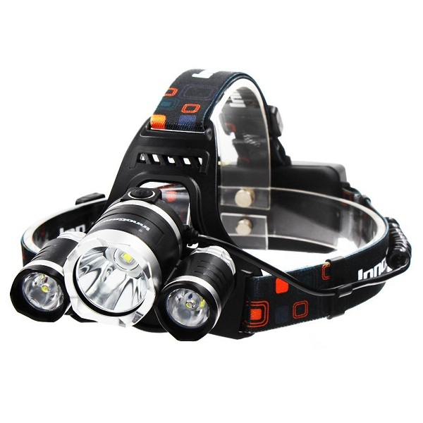 6. InnoGear Torch 3 CREE XM-L2 T6 LED Headlamp