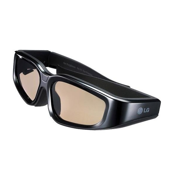 6. LG AG-S100 3D Active Shutter Glasses