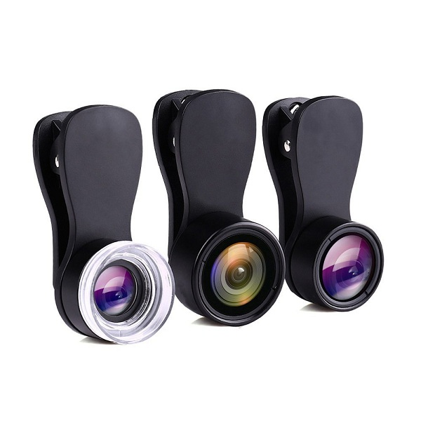 7. Holigoo Premium Clip-on Cell Phone Lens Kit