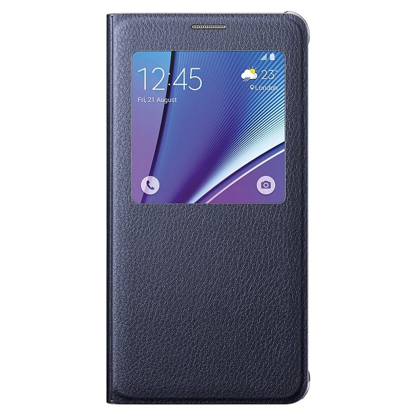 7. Samsung Galaxy Note 5 Case S-View Flip Cover Folio