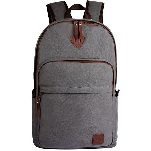 8. ibagbar Canvas Backpack