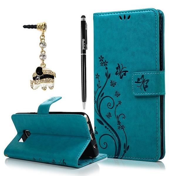 9. BADALink Fashion Wallet Note 5 Case