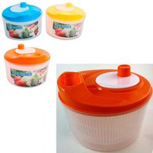 Salad Spinner Serving Bowl Fruit Vegetable Strainer Kitchen Utensil