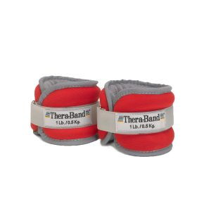 TheraBand Comfort Fit Ankle & Wrist Cuff Wrap Walking Weights Set